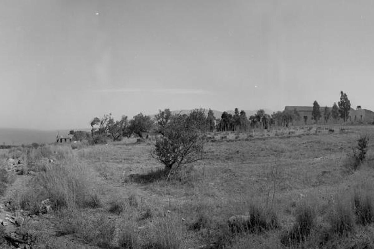 1967-08-00 Trappeto, il terreno del Centro Studi 04-05-06-07 panoramica (Copy)